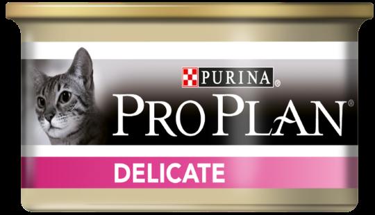 PRO PLAN Delicate консерва с индейкой