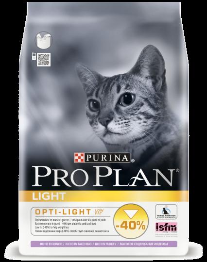 PRO PLAN Light С ИНДЕЙКОЙ