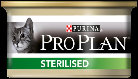PRO PLAN Sterilised консерва с тунцом