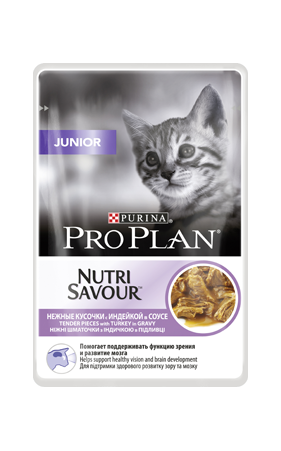 PRO PLAN Junior для котят с индейкой