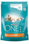 Сухой корм для кошек и котов Purina ONE