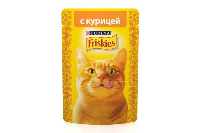 Консервы для кошек Purina Friskies, курица