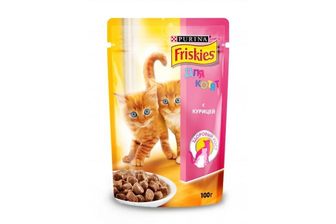 Purina Friskies корм для котят