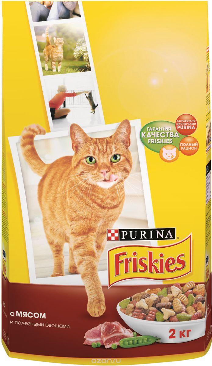 """""""Friskies"""", с мясом и полезными овощами"""