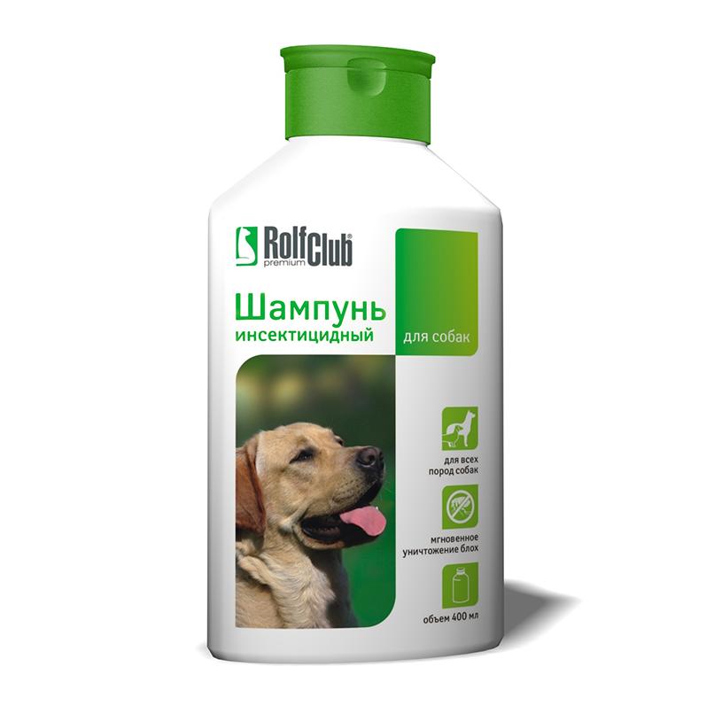 RolfClub шампунь инсектицидный для собак (400 мл)