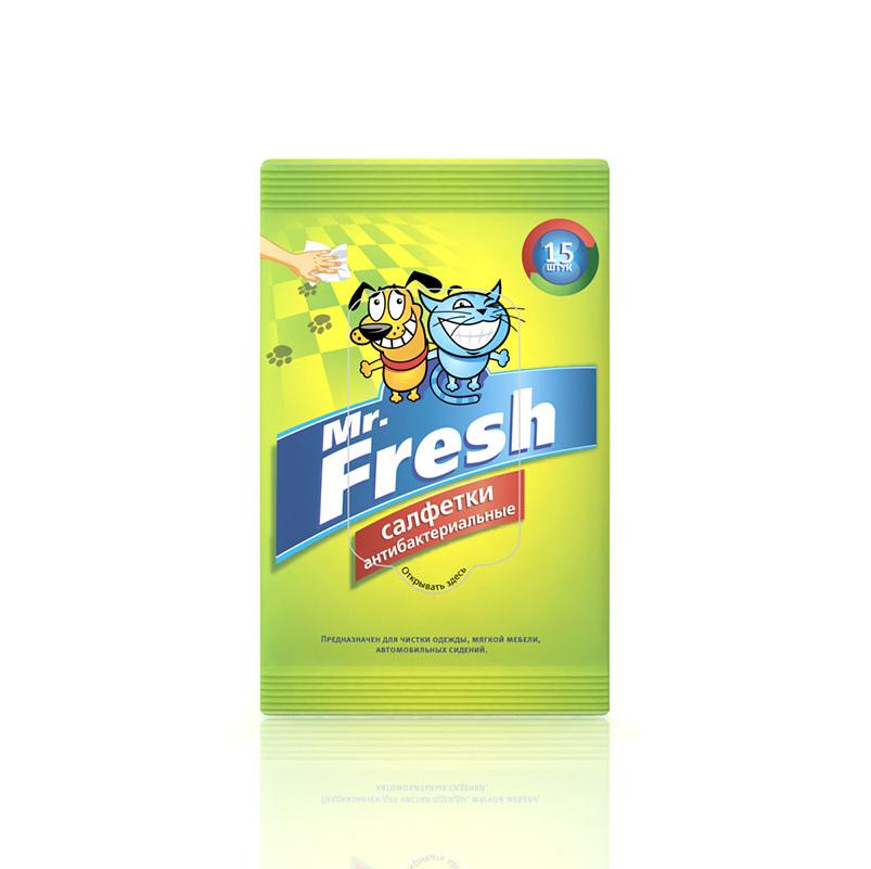 Mr.Fresh Салфетки влажные антибактериальные