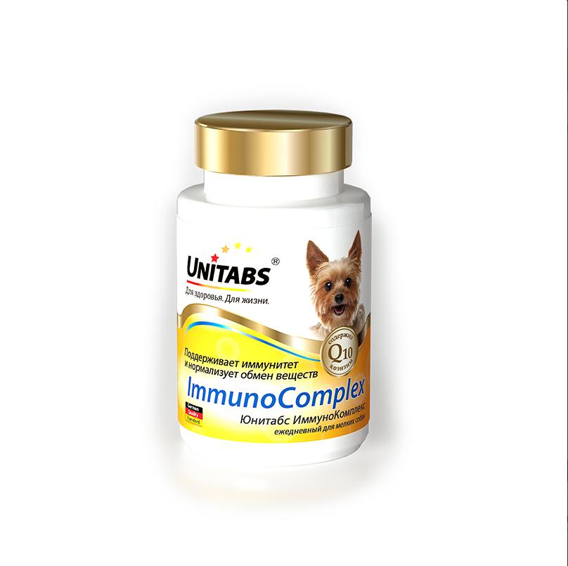 Unitabs ImmunoComplex для укрепления иммунитета для мелких собак